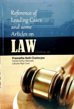 Reference Of Leading Cases And Some Article On Law