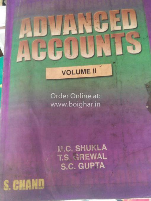 Advanced Accounts Vol. 2