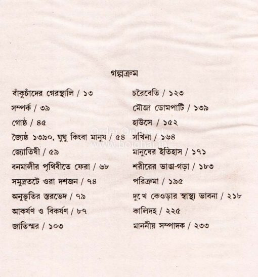 Srestha Golpo [Ramkumar Mukhopadhyay]