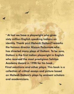 An Insight into the plays of Mahesh Dattani [Satabdi Das]